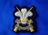 3rd CARABINIERS ( PRINCE OF WALES'S DRAGOON GUARDS ) BLAZER BADGE